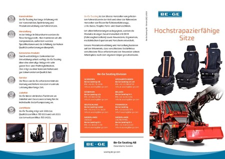 Brochure Heavy Duty Seating