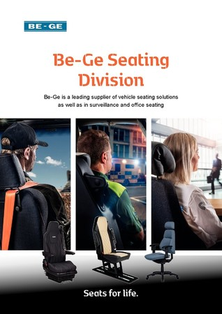 Broschure Be-Ge Seating Division
